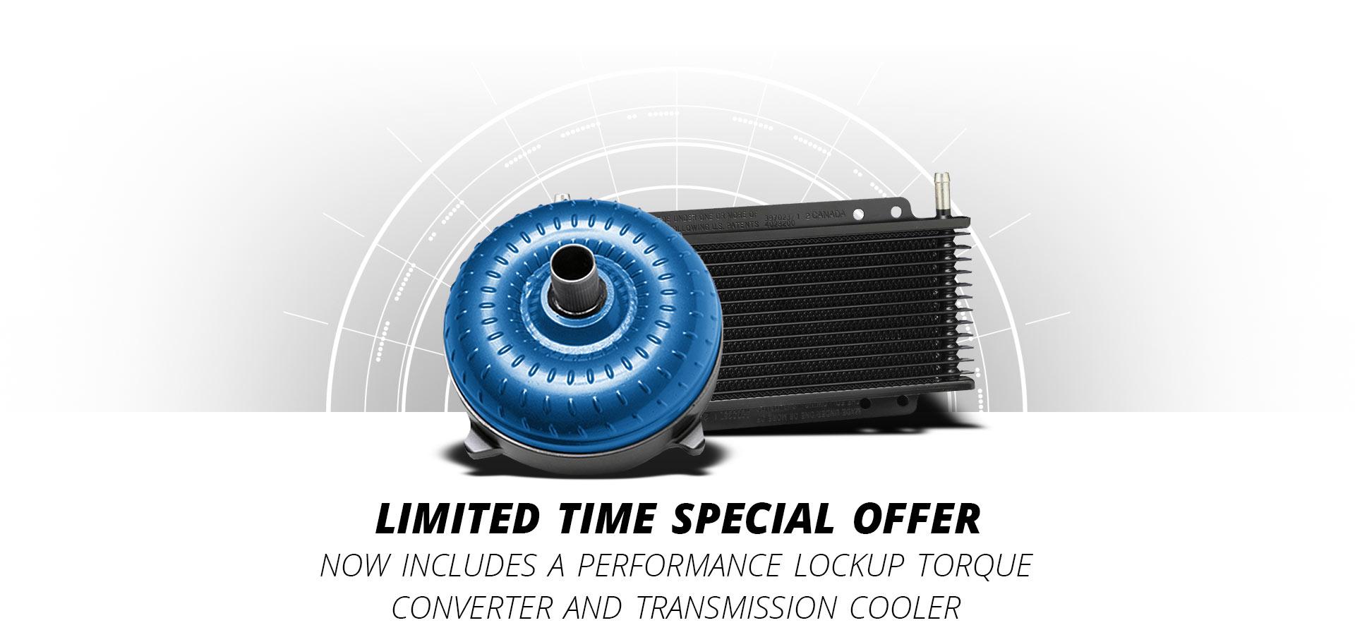 Performance 47RH Lockup Torque Converter Transmission Cooler