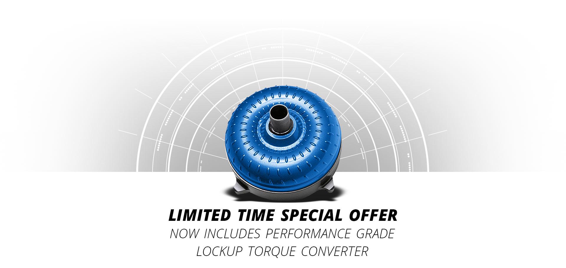 Performance 44RE Lockup Torque Converter